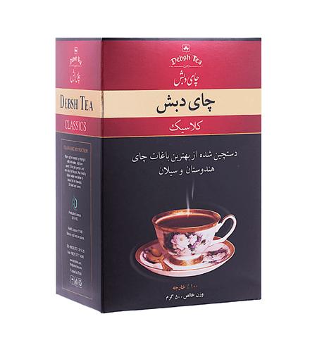 چای دبش کلاسیک بسته بندی 500 گرمی