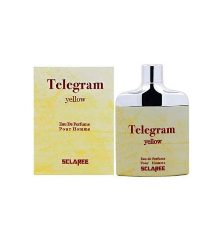 ادوپرفیوم مردانه اسکلاره مدل Telegram Yellow حجم 82 میلی لیتر
