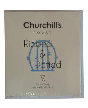 کاندوم چرچیلز مدل Ribbed & Dotted