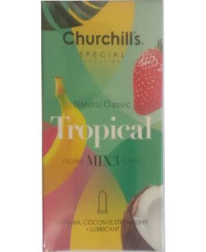 کاندوم چرچیلز مدل Tropical