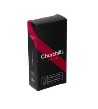 کاندوم چرچیلز مدل Classic Natural، بسته 12 عددی