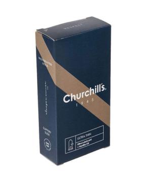 کاندوم چرچیلز فوق العاده نازک مدل UltraThin بسته 12 عددی