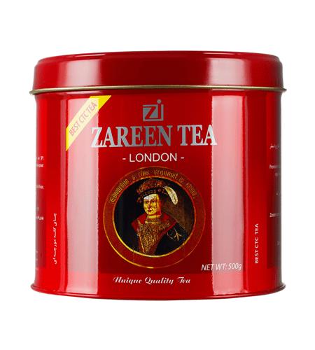 چای کله مورچه ای زرین قوطی 500 گرمی