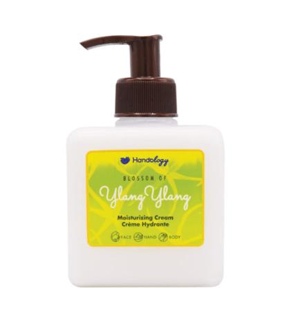 کرم هندولوژی مدل شکوفه یلانگ یلانگ مخصوص پوست خشک حجم 285 میلی لیتر